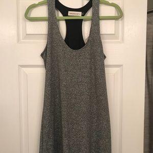 Veronica M Silver/Grey Mini Dress